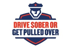 the Driver Sober or Get Pulled Over campaign logo