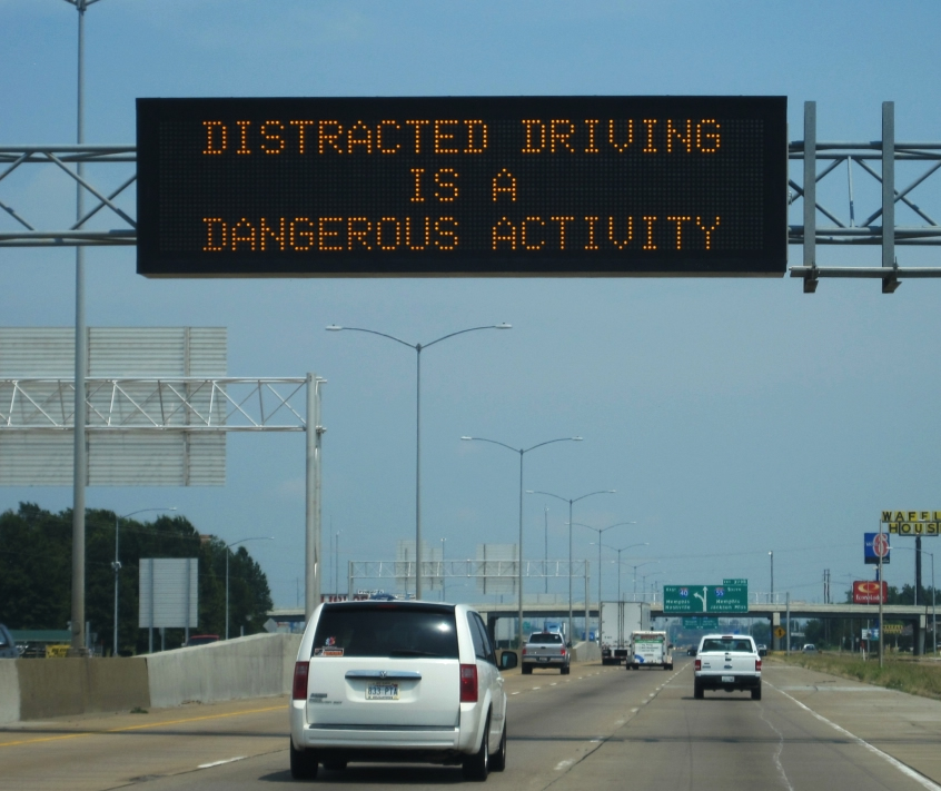 distracted driving in atlanta georgia
