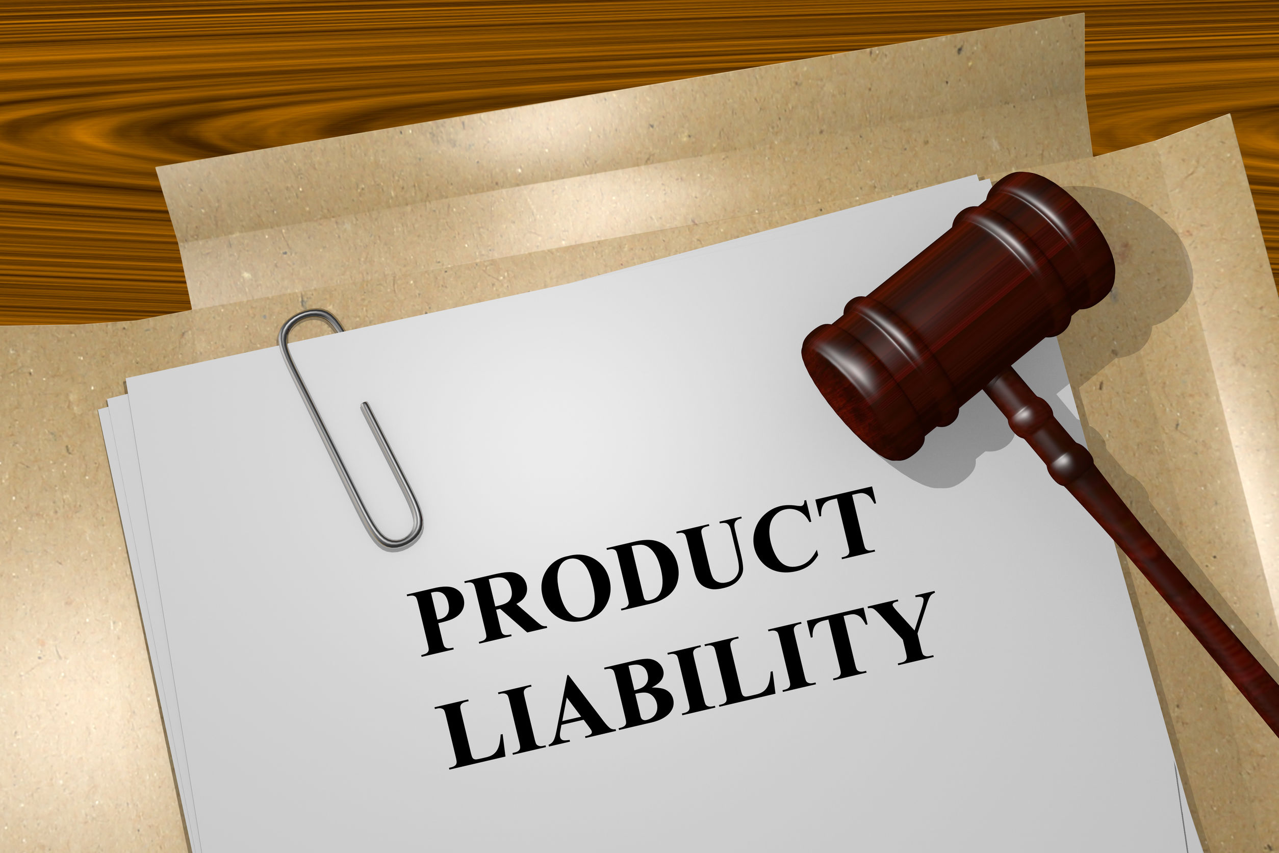 Product liability with a gavel